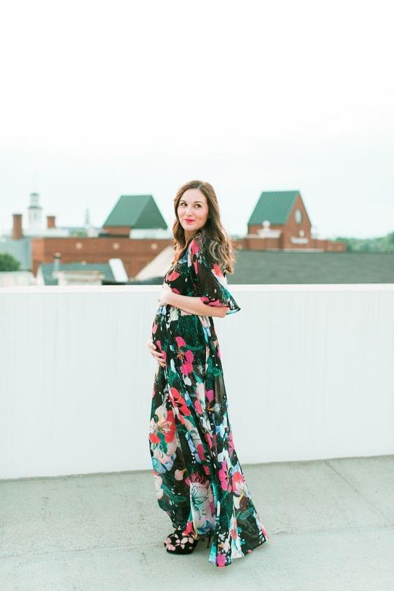 Vestidos Largos De Verano Para Embarazadas 14 Curso De