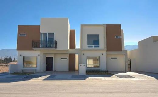 cocheras y fachadas para casas de interes social 2