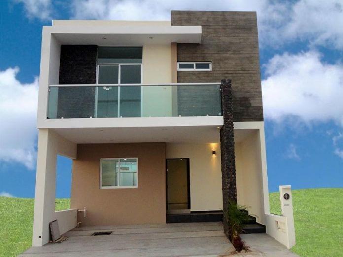Cocheras y fachadas para casas de interes social 4 for Cocheras minimalistas