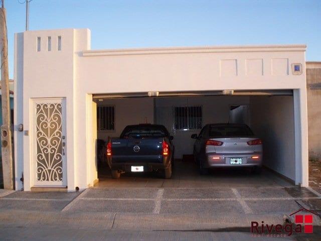 Cocheras y fachadas para casas de interes social 5 for Cocheras minimalistas