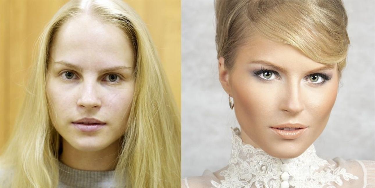 Como aplicar el maquillaje líquido a los 40