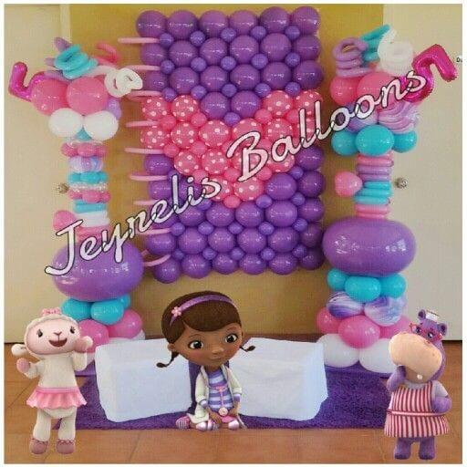 decoracion con globo de doctora juguetes 29 curso de