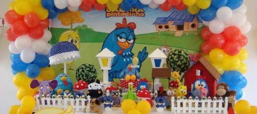 Decoracion de mesa de postres gallina pintadita