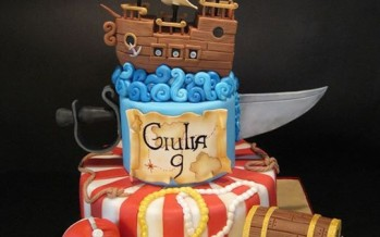 Decoracion de pasteles de piratas