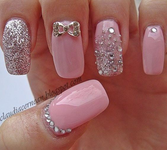 U as decoradas color rosa curso de organizacion del for Rosas de decoracion