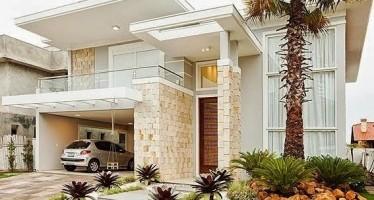 Diseño de fachadas de casas de 3 recamaras o mas