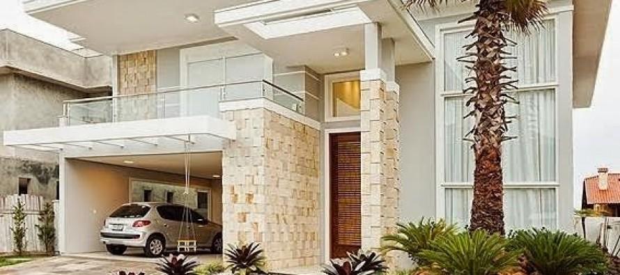Diseo De Fachadas Awesome Fachada Casa Dos Pisos De Madera With - Diseo-de-fachadas-de-casas