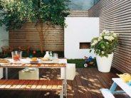 Diseño de comedores para jardines pequeños
