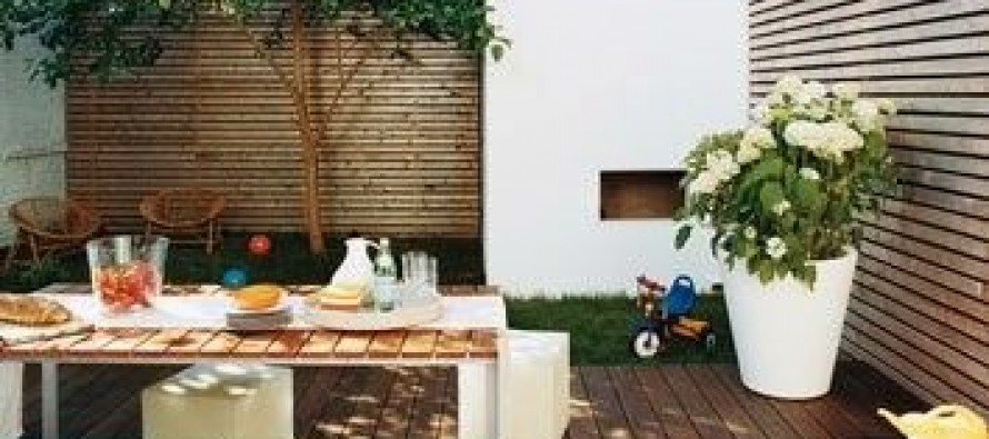 Dise o de comedores para jardines peque os curso de organizacion del hogar for Disenos jardines pequenos modernos