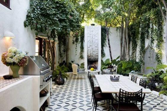 diseno de comedores para jardines pequenos (7) - Curso de ...