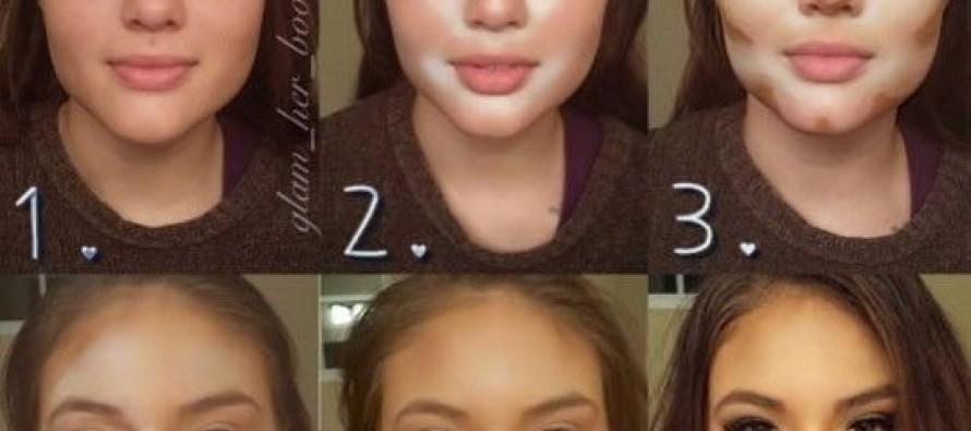 Ideas para contornear el rostro