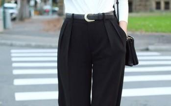 Ideas para vestir en blanco y negro
