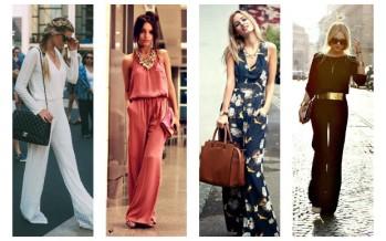 Outfit con jumpsuit o palazos elegantes