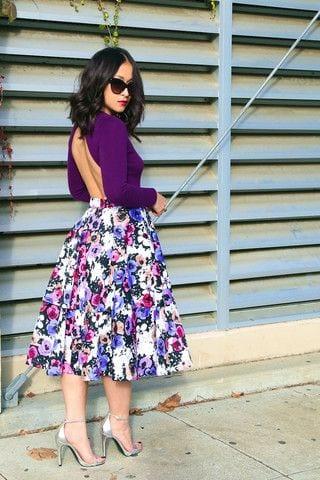 07b0b5146d falda+larga+de+la+mujer+2+ faldas modernas debajo de la rodilla