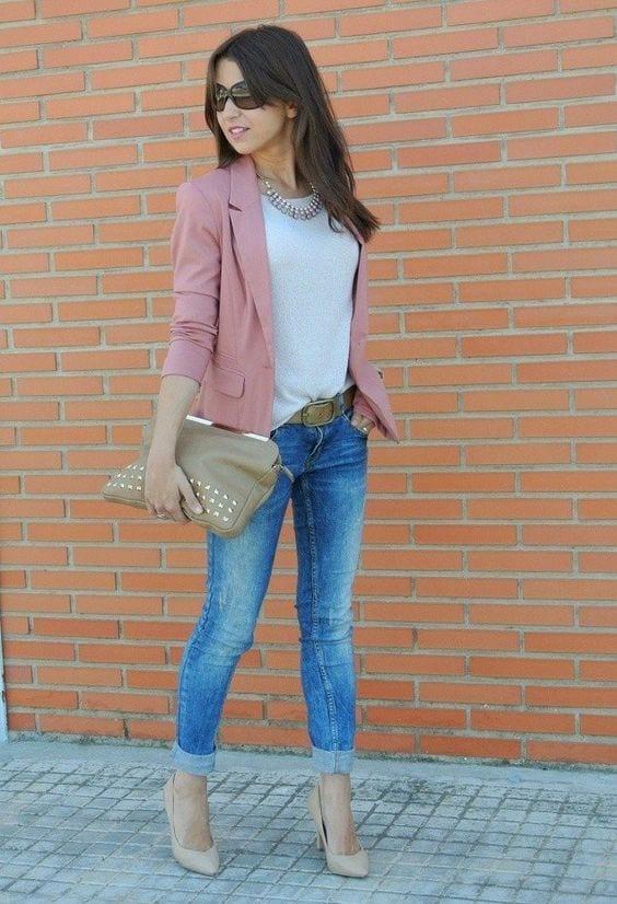 Outfit de jeans con blusa blanca (16) - Curso de Organizacion del hogar y Decoracion de Interiores