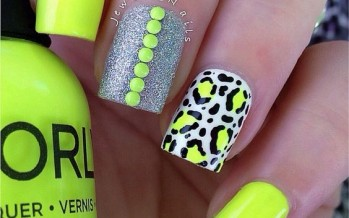Tendencia en uñas color  neon