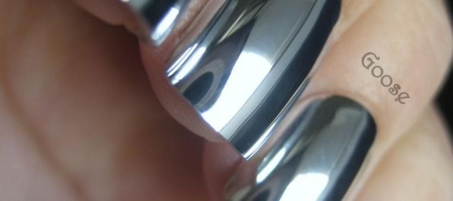 Unas acabado espejo metalico