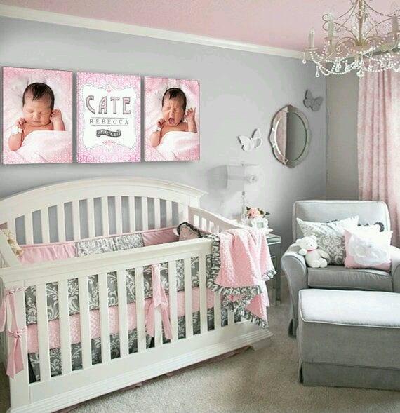 29 fotos de decoracion de habitacion para bebes 16 for Adornos habitacion bebe