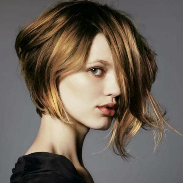 Corte de pelo mujer dos colores
