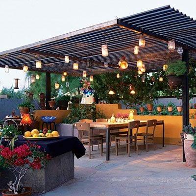 Dise os de palapas para decorar jardines 19 curso de for Pisos con terraza en bilbao