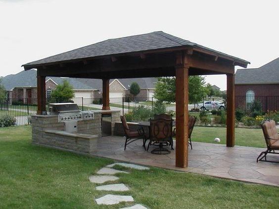 Dise os de palapas para decorar jardines fotos ideas imagenes for Free greene and greene furniture plans