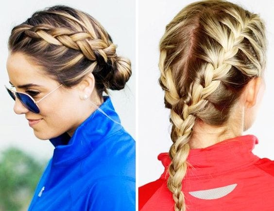workout styles for hair ideas de peinados para hacer ejercicio 11 curso de 9364