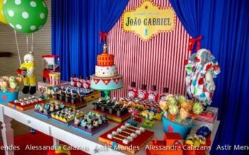 Ideas para fiesta con tema de circo