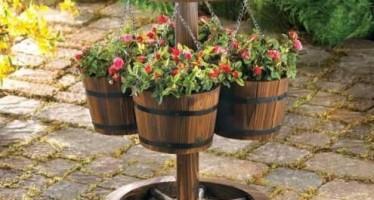 Maceteros y floreros para jardin