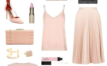 Outfits en color rosa cuarzo