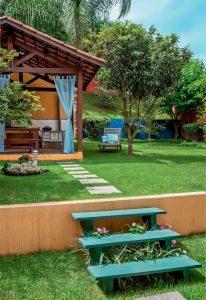 Ambientación de casas de jardín