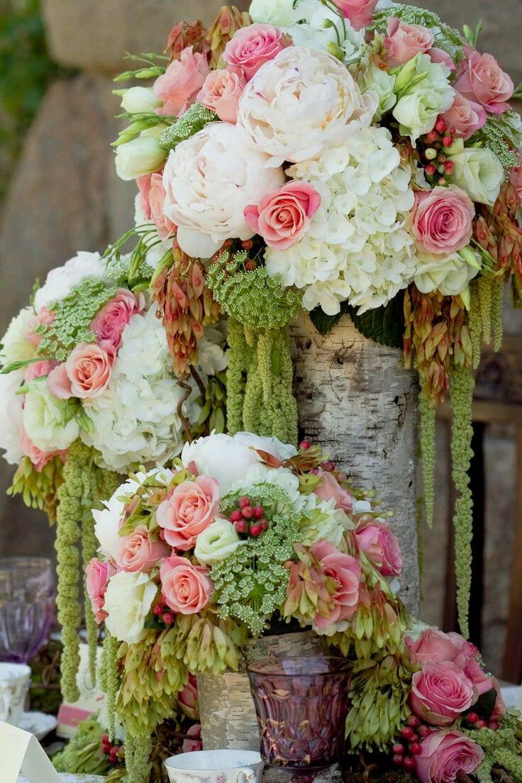 Arreglos de flores naturales para eventos o regalar 18 - Flores artificiales para decorar ...