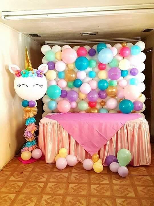 Baby shower de unicornio