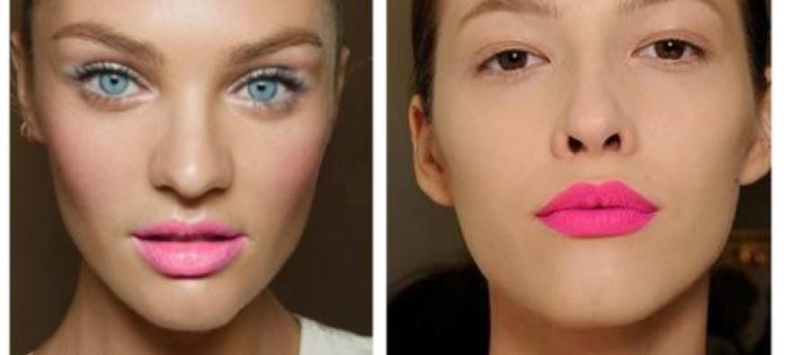 Maquillaje de labios primavera-verano