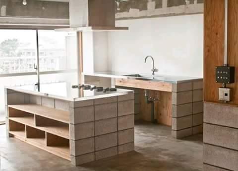 Cocinas de concreto - Curso de Organizacion del hogar
