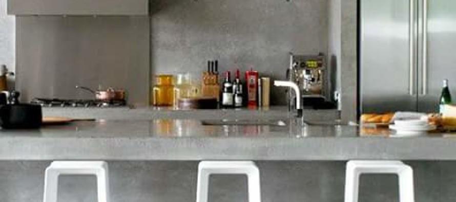 Cocinas de concreto