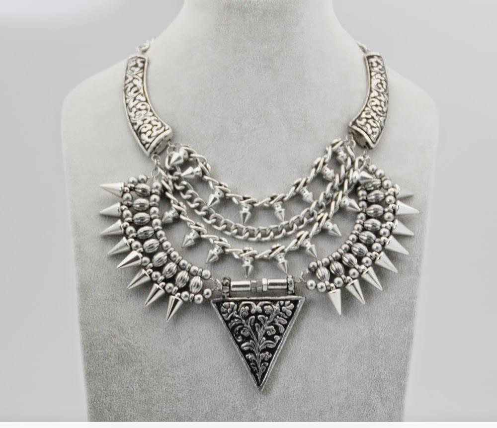 Collares de plata modernos 2016 , 2017