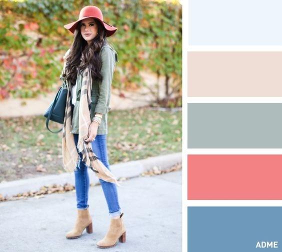 Combinaciones de colores de ropa 12 curso de - Combinaciones con gris ...