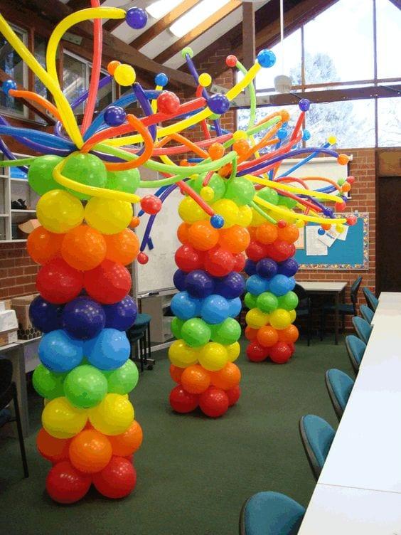 Decoracion con globo para fiesta de lalaloopsy 25 for Decoracion y organizacion del hogar