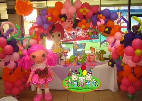 decoracion infantil lalaloopsy