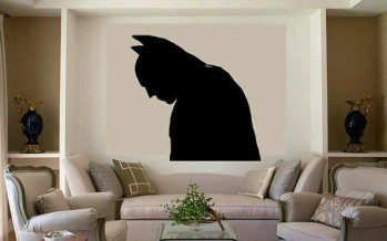 Decoración de batman para interiores
