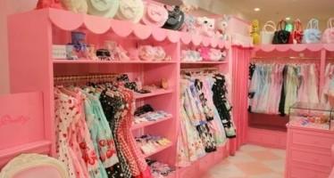 Decoracion de closet para niña