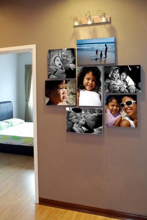 Decoracion de paredes con fotos 4 curso de for Decoracion de paredes con fotos