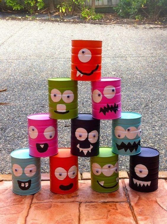 Ideas de manualidades con latas de leche 16 curso de organizacion del hogar y decoracion de - Manualidades recicladas para decorar ...