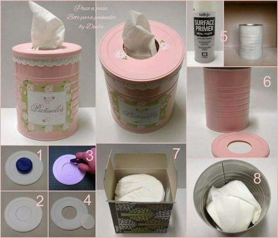 ideas de manualidades con latas de leche 5 - Ideas De Manualidades