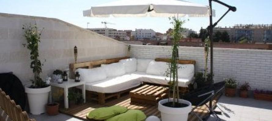 Ideas de sala para terrazas curso de organizacion del - Ideas para cerrar una terraza ...