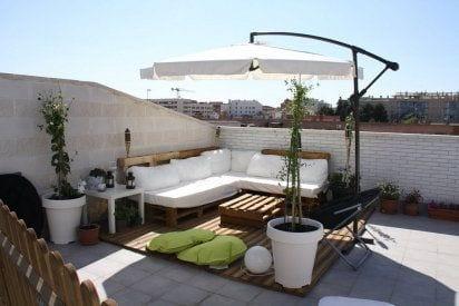 Ideas de sala para terrazas curso de organizacion del for Terrazas en segundos pisos