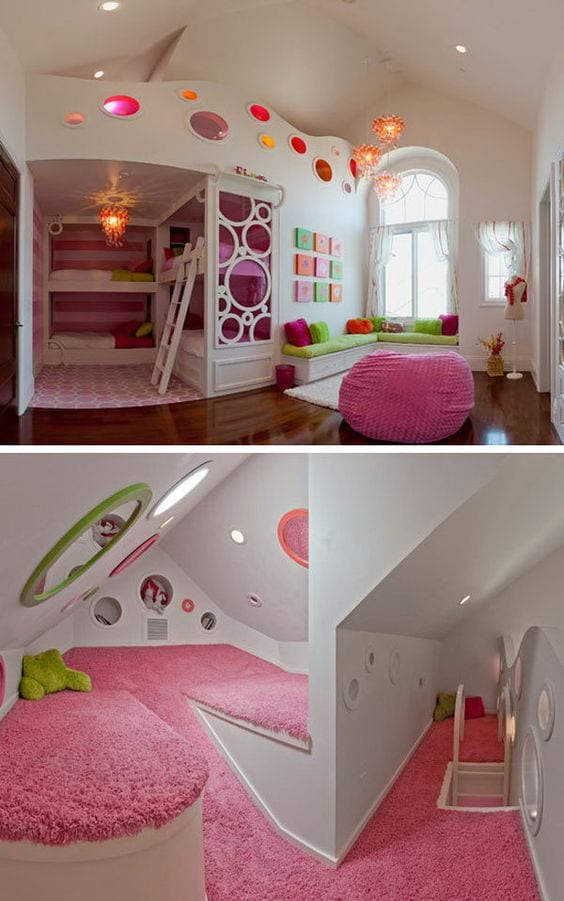Ideas para decorar y organizar recamaras infantiles 2 for Decoracion y organizacion del hogar