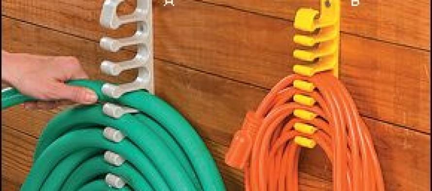 Ideas para organizar mangueras y cables