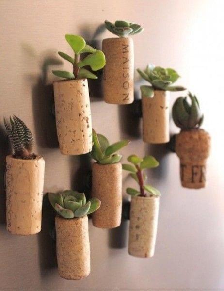 Ideas para reciclar corchos
