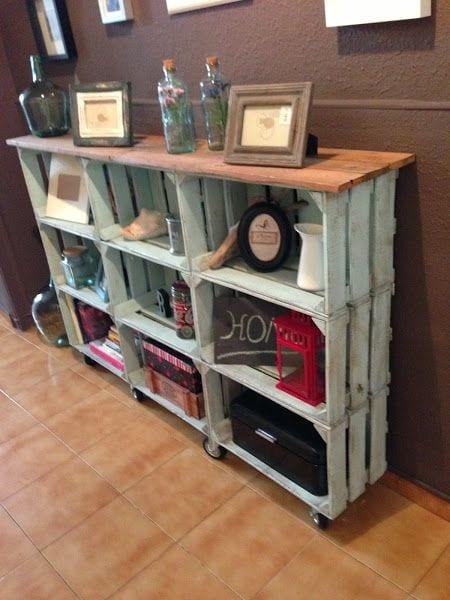Ideas para reciclar y hacer muebles funcionales 17 for Muebles para reciclar